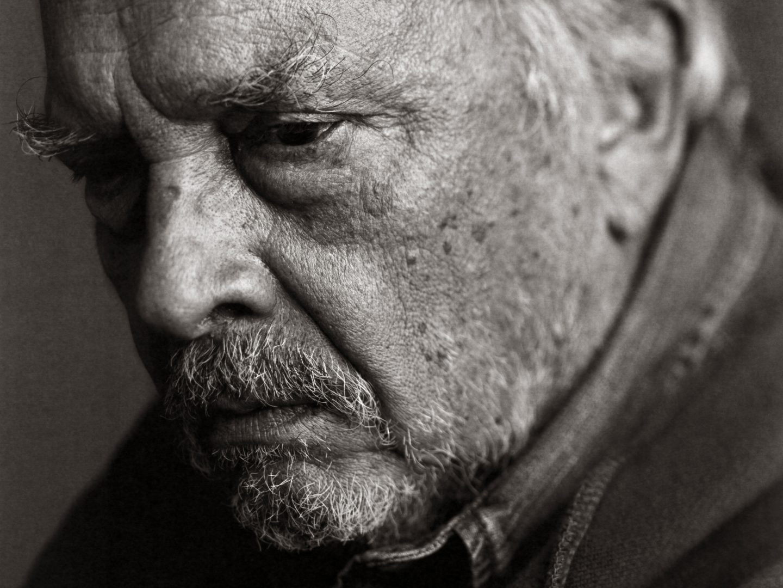 black and white portrait by stefan rappo