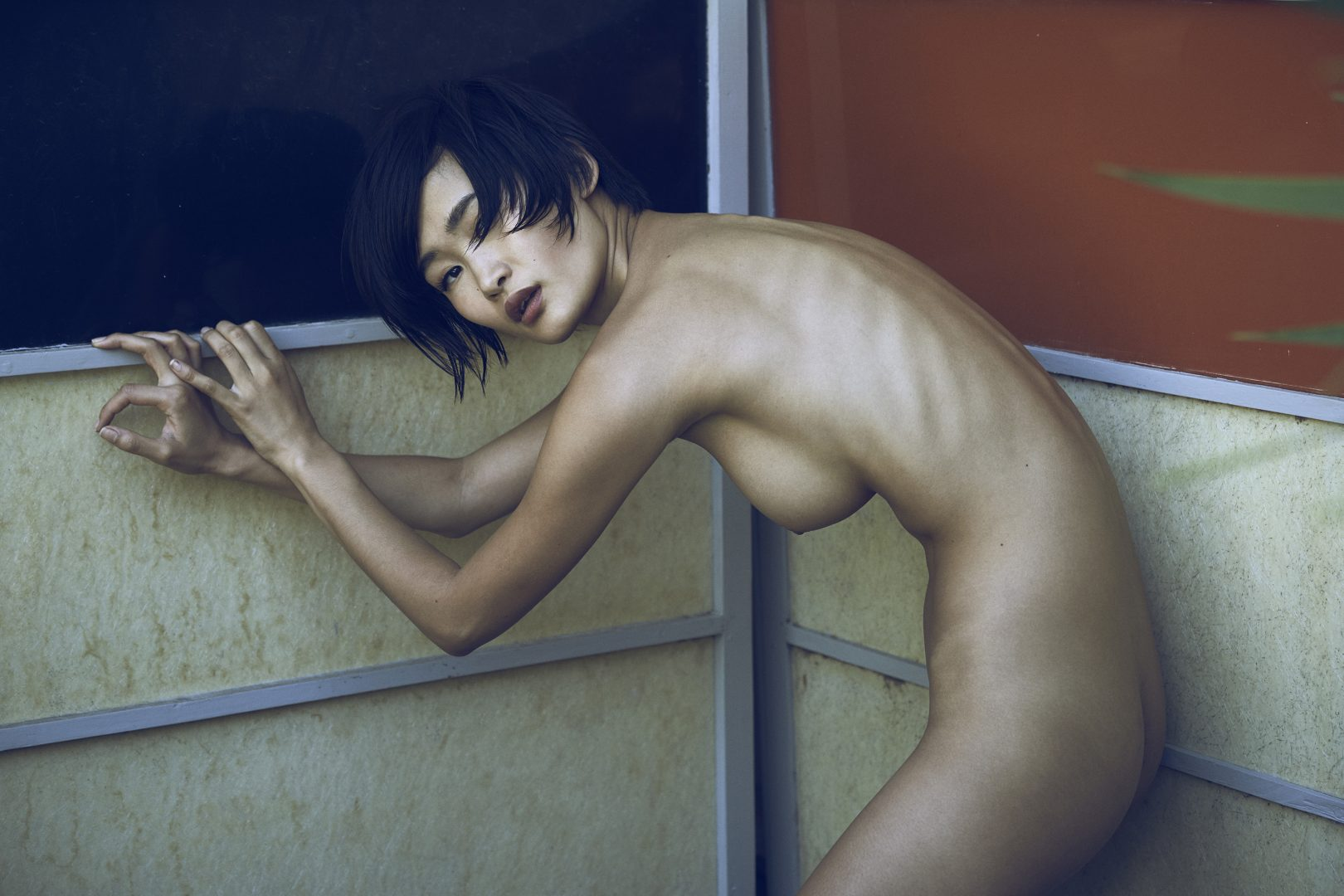 Naked girl posing by Stefan Rappo