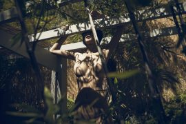 Thumbnail Naked girl in branches by Stefan Rappo