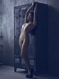 Thumbnail Naked girl standing by Stefan Rappo