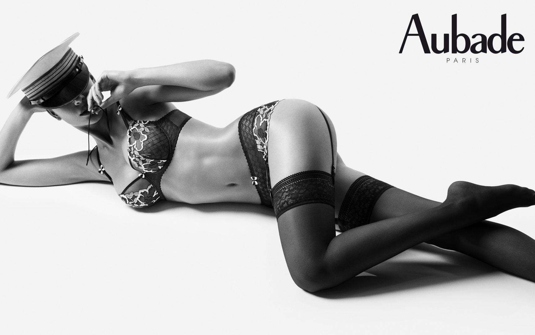 Aubade lingerie campaign by Stefan Rappo
