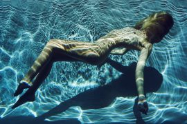 Thumbnail naked girl in underwater in swimming pool by stefan rappo
