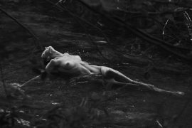 Thumbnail naked girl in hot spring by stefan rappo