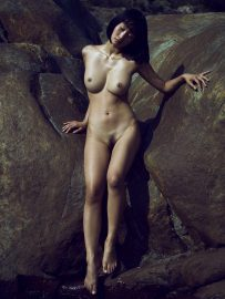 Thumbnail portrait of naked girl by stefan rappo