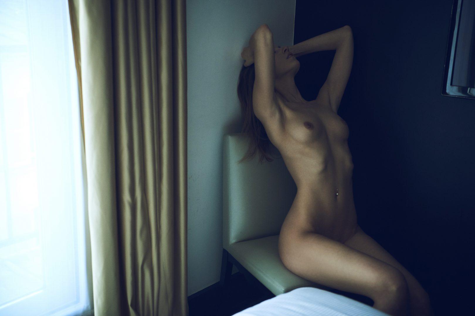 girl naked in hotel room by stefan rappo