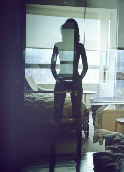 Naked girl in hotel room by stefan rappo