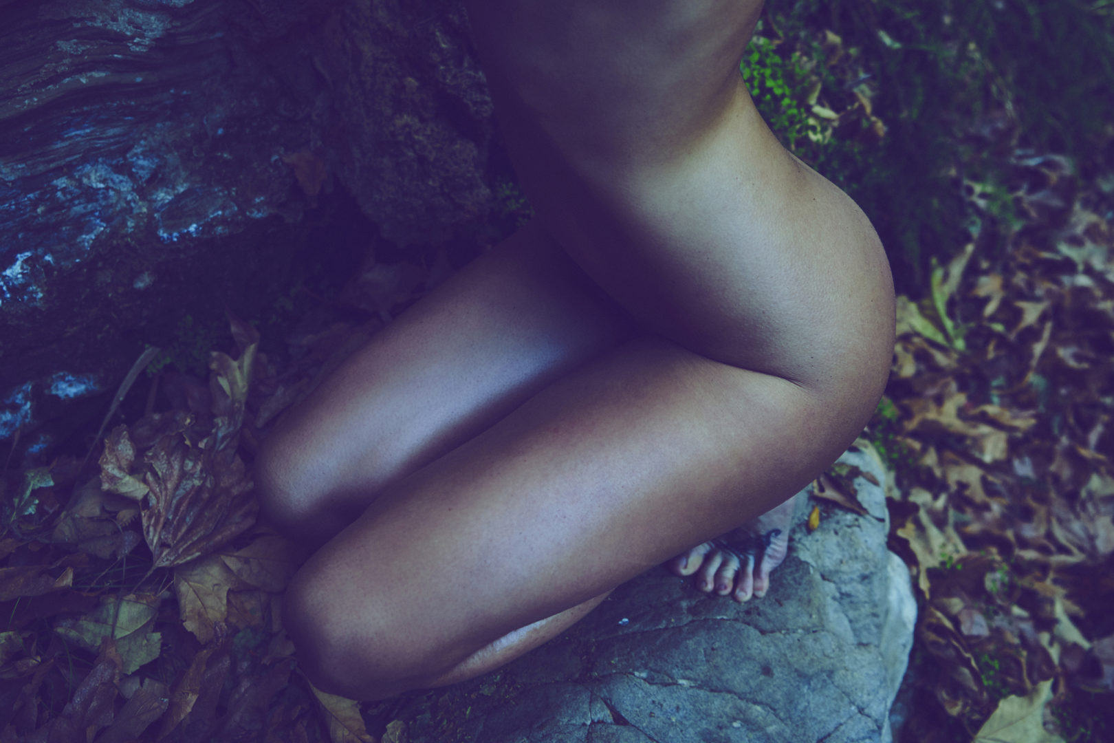 naked girl in nature
